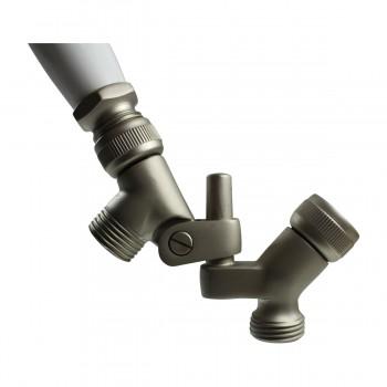 <PRE>Shower Head Nickel Brass Wall Mount Showerhead Only </PRE>zoom6