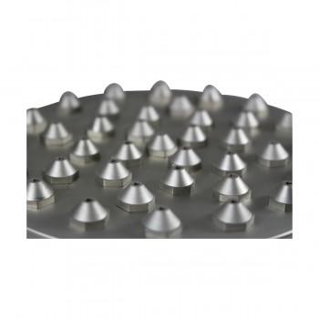 <PRE>Shower Head Satin Nickel 37 Fine Mist Jets Deck Mount </PRE>zoom6