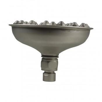 Shower Head Satin Nickel 37 Fine Mist Jets Deck Mount Shower Head Shower Heads Bath Shower Head