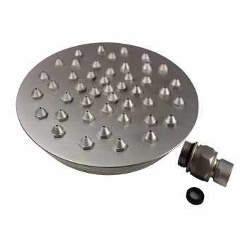 <PRE>Shower Heads Satin Nickel 45 Fine Mist Jets Wall Mount </PRE>zoom3