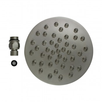 <PRE>Shower Heads Satin Nickel 45 Fine Mist Jets Wall Mount </PRE>zoom9