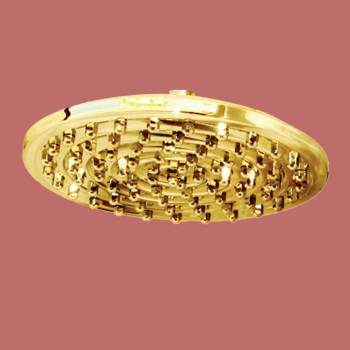 Shower Heads Gold PVD 75 Fine Mist Jets Wall Mount Shower Head Shower Heads Bath Shower Head