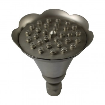 <PRE>Shower Heads Nickel 30 Fine Mist Jets Wall Mount </PRE>zoom9