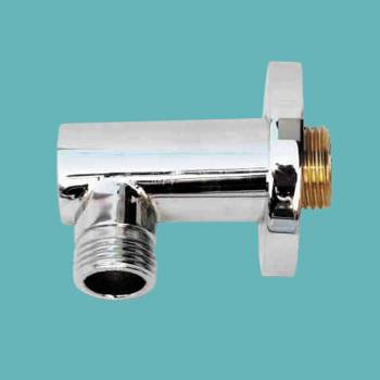 Shower Part Chrome Shower Water Connector Part Only Brass Shower Parts Water Connector Shower Connector