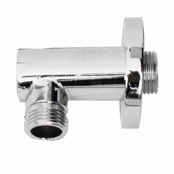 Shower Part Satin Nickel Water Connection Part Deck Mount 16271grid