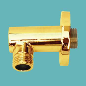 spec-<PRE>Shower Part Gold PVD Brass Shower Water Connector Part Only </PRE>
