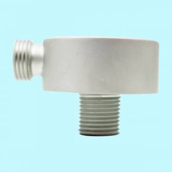 <PRE>Shower Part Satin Nickel Brass Water Connector Part Only </PRE>zoom2