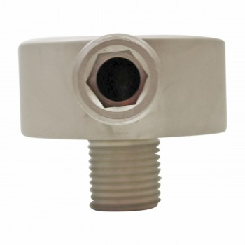 <PRE>Shower Part Satin Nickel Brass Water Connector Part Only </PRE>zoom4