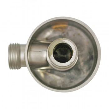 <PRE>Shower Part Satin Nickel Brass Water Connector Part Only </PRE>zoom5