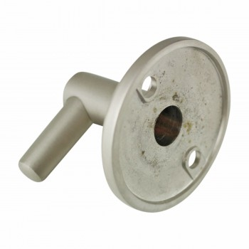 <PRE>Shower Part Satin Nickel Brass Pin Bracket Part Only </PRE>zoom5