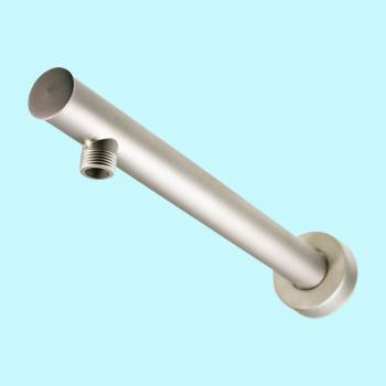Shower Part Nickel Brass Shower Arm Part Wall Mount Shower Arm Parts Satin Nickel Shower Arm Shower Arm Replacement