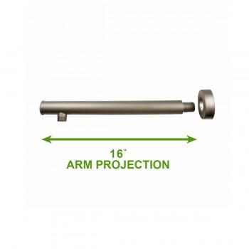 spec-<PRE>Shower Part Nickel Brass Shower Arm Part Wall Mount </PRE>