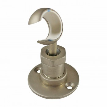<PRE>Twist-In Bracket Satin Nickel Shower Part Replacement </PRE>zoom3