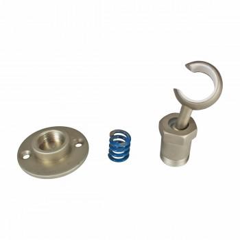 <PRE>Twist-In Bracket Satin Nickel Shower Part Replacement </PRE>zoom5