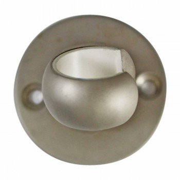 <PRE>Twist-In Bracket Satin Nickel Shower Part Replacement </PRE>zoom8