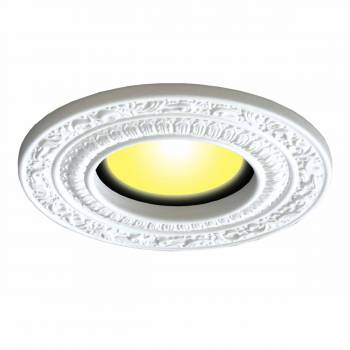 Recessed Lighting Trim Acanthus Scroll 6 in. ID x 10 in. OD