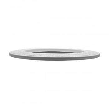 "<PRE>Spot Light Ring White Trim 8inch ID x 12"" OD Mini Medallion </PRE>zoom6"