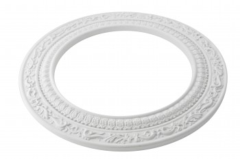 Spot Light Ring White Trim 8 ID x 12 OD Mini Medallion