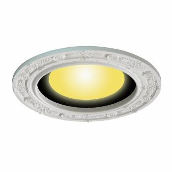 Spot Light Ring White Trim 8