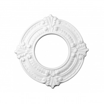 Recessed Lighting Trim Acanthus Crest 4 in. ID x 8 in. OD
