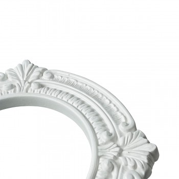 <PRE>Recessed Urethane Ceiling Medallion Trim White 6 inches ID x 10 inches OD</PRE>zoom6