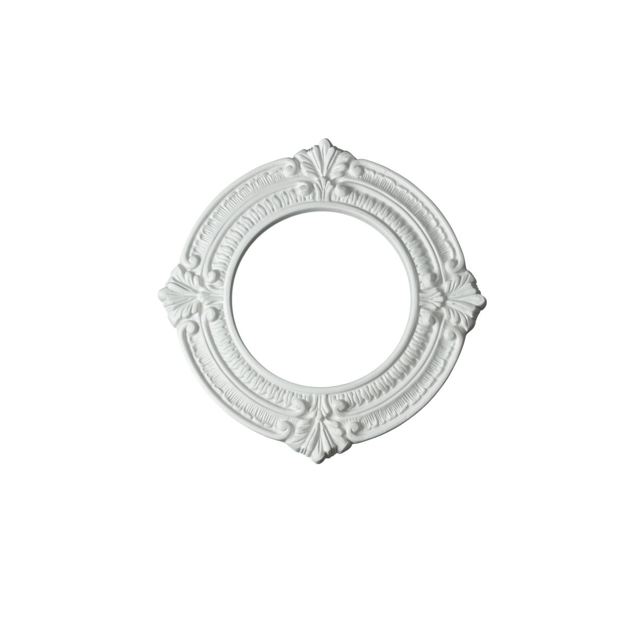 Ceiling medallion urethane recessed trim rosette 6 id x 10 od white ceiling medallion urethane recessed trim rosette 6 id x 10 od arubaitofo Image collections