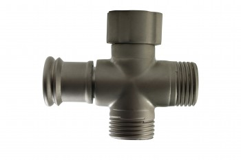 <PRE>Shower Arm Diverter Satin Nickel Valve Push / Pull </PRE>