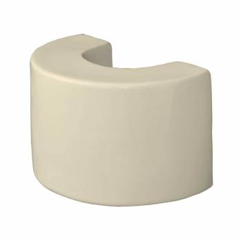 <PRE>Bathroom Pedestal Sink Extender Booster 8inch H Bone Ceramic </PRE>zoom1