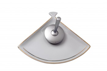 <PRE>Waterfall Faucet Cast Satin Nickel Brass Short Ceramic 7inch H </PRE>zoom4