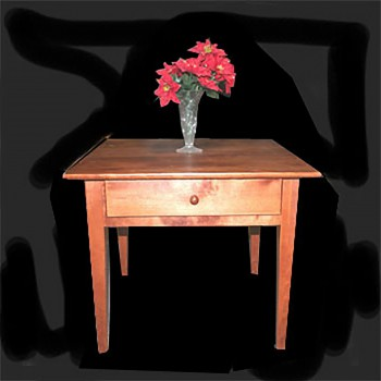 <PRE>End Tables Autumn Birch Homestead Table </PRE>zoom3