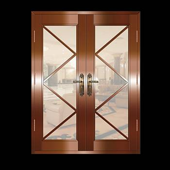 Copper Doors Copper On Steel Security Double Door16654grid