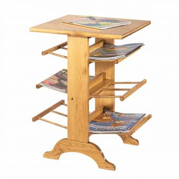 Country Pine Magazine Rack