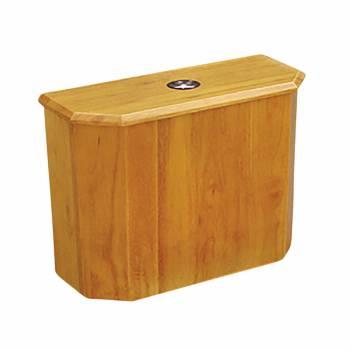 Toilet Part Light Oak Finish Hardwood Tank Only 16698grid