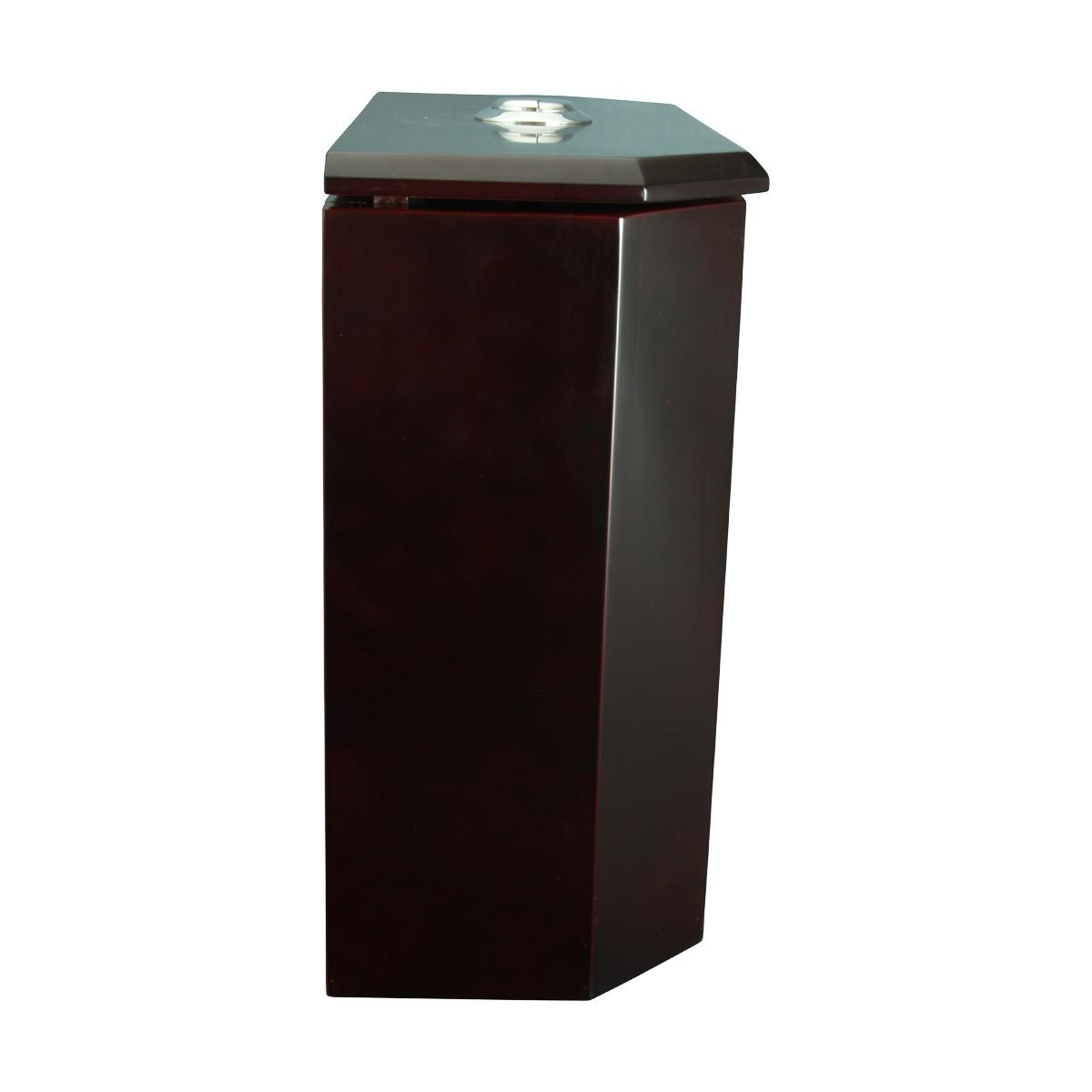 Toilet Part Cherry Finish Hardwood Lowboy Beveled Tank Only Toilet Part Toilet Parts Toilet Replacement Part