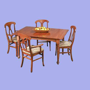 <PRE>Dining Room Table Set Autumn Stain Hardwood Birch Table 56 Inch x 38 Inch</PRE>zoom2