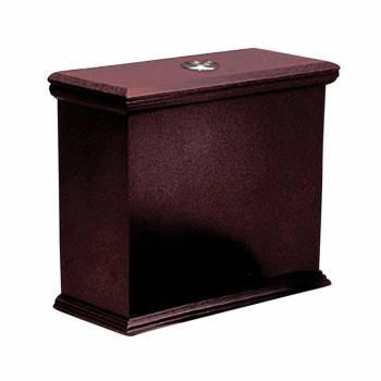 Toilet Part Cherry Hardwood Lowboy Flat Tank Only 16706grid
