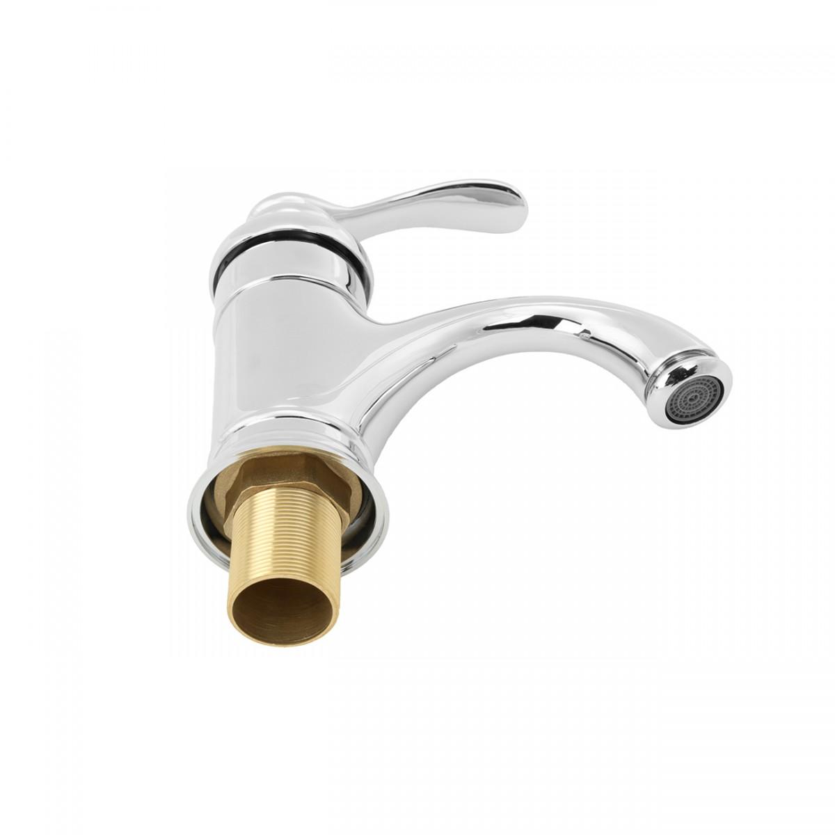 Bathroom Faucet Chrome Plated Ashley Single Hole 1 Handle Single Hole Faucets Bathroom Sink Faucets Bathroom Faucet