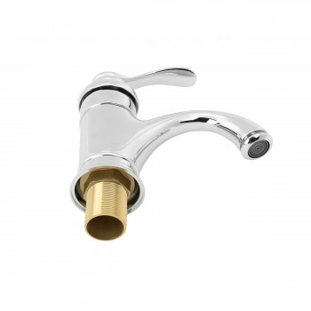 <PRE>Bathroom Faucet Chrome Plated Ashley Single Hole 1 Handle </PRE>zoom3