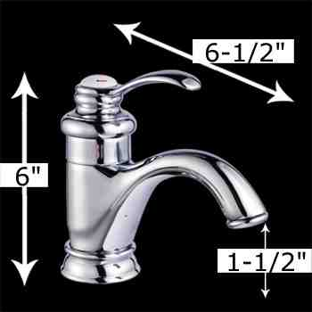 Faucets - Ashley Single Hole Faucet by the Renovator's Supply