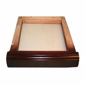 Toilet Part Natural Wood Frame for Ceramic High Tank Only 16768grid