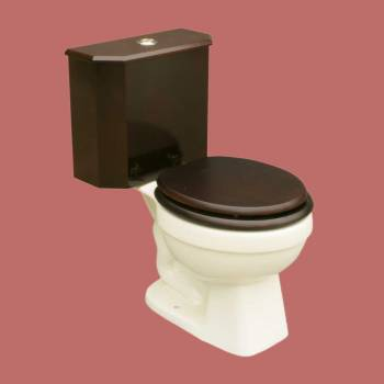 <PRE>Dual Flush Lowboy Round Toilet with Cherry Wooden Tank and Bone Porcelain Bowl</PRE>zoom2
