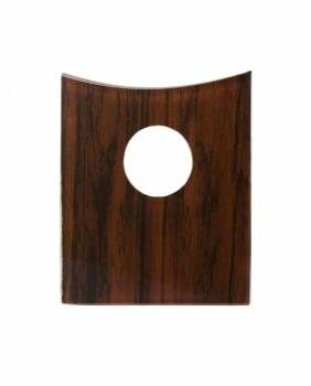 Bathroom Faucet Part Glass Mahogany Disc Single Hole 16897grid