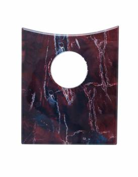 Replacement Waterfall Faucet Square Glass Disc Plate Rock 16901grid