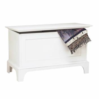 Bench White Pine Shaker Blanket Chest 169118grid