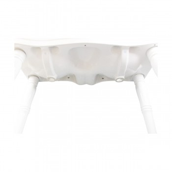 <PRE>Part White Vitreous China Belle Epoque Double Deluxe Console Sink 8in.</PRE>zoom8