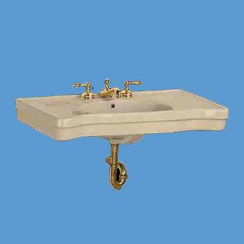 <PRE>Renovator's Supply Wall Mount Console Sink Deluxe Top Bone China Southern Belle</PRE>zoom2