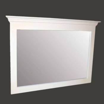 <PRE>Mirror White Crackle Wood Bedroom </PRE>