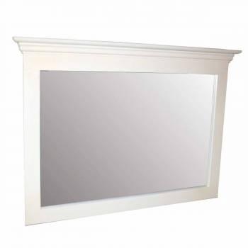 <PRE>Mirror White Crackle Wood Bedroom </PRE>zoom1