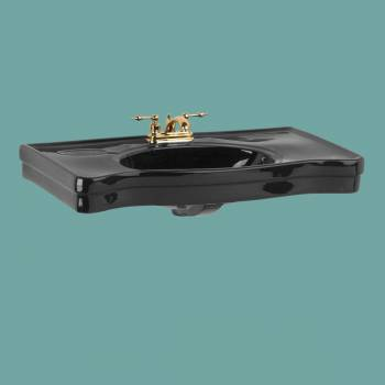 <PRE>Bathroom Console Sinks Deluxe Black China Belle Epoque </PRE>