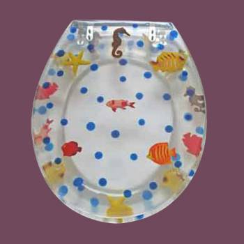 <PRE>Polyresin Toilet Seat Sea Horse Adjustable Elongated Hinge  </PRE>zoom2